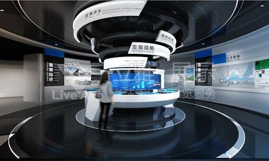 东莞创新人才服务中心展厅设计搭建
